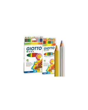 Astuccio 8 pastelli giotto mega 225400 8000825225413 225400_49991 by Giotto