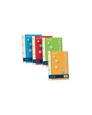 Ricambi forati a5 1rigo 100fg 80gr soft colors 5 colori favini A47X675_50001 by Favini