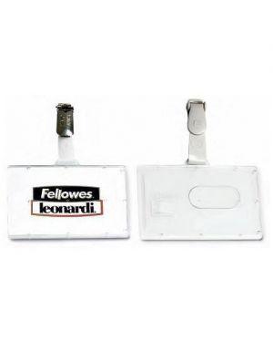 Cf100p.badge pocket clip in plas L460_50096 by Esselte