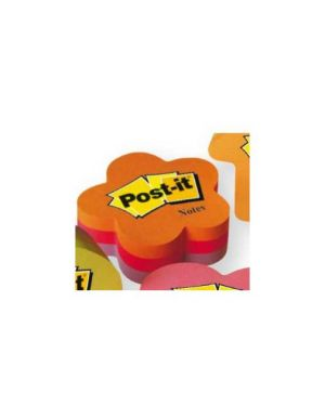 Blocco fiore 225 foglietti post-it® 70x70mm 2007-f 72gr 27063_50116 by Esselte