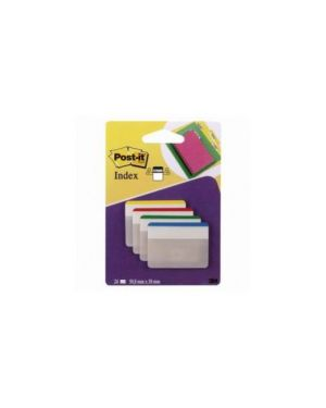 Blister 24 post-it index strong 686f-1 50,8x38mm x archivio 5271_50216 by Esselte
