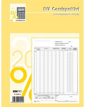 Registro prima nota iva corrispettivi 29,7x23 13 - 13 fg autoric. e2104a E2104A 8023328210410 E2104A_50234
