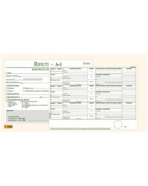 Registro carico - scarico rifiuti detentori mod.a 22,5x29,7 100pag. e2868 E2868 8023328286804 E2868_50250 by Edipro