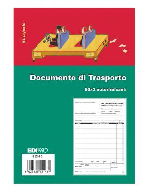 Blocco ddt 50 - 50 fogli autoric. 23x15 e5214c E5214C 8023328521417 E5214C_50257 by Edipro