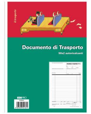 Blocco ddt 50 - 50 fogli autoric. 29,7x21 e5216c E5216C 8023328521615 E5216C_50260 by Edipro