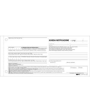 250 schede di notifica snap a 2 copie autoric. 10x22 e5876n E5876N CONFE5876NPZ250W E5876N_50285 by Edipro