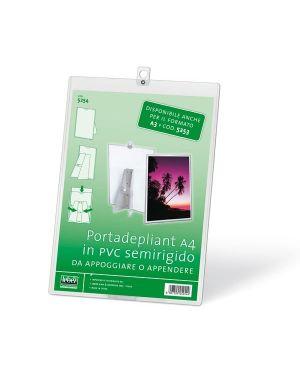 Portadepliant a4 in pvc semirigido 5254 8007509052549 5254_50518 by Lebez