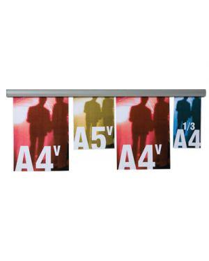 Barra appendifogli opla in alluminio cm.70 STUDIO T 1109033 8033162462210 1109033_50526