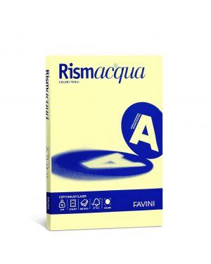 Carta rismacqua small a4 90gr 100fg giallo chiaro 07 favini A692144 8007057615319 A692144_50586 by Esselte