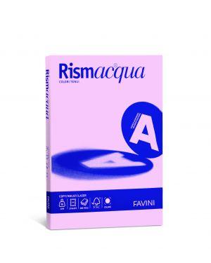 Carta rismacqua small a4 90gr 100fg rosa 10 favini A69S144_50587