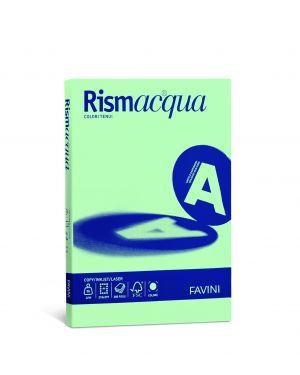 Carta rismacqua small a4 90gr 100fg verde chiaro 09 favini A69P144 8007057615357 A69P144_50590 by Esselte