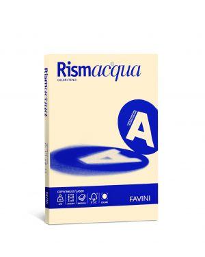 Carta rismacqua small a4 200gr 50fg camoscio 02 favini A69R544 8007057615401 A69R544_50595 by Esselte