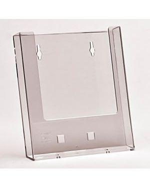 Porta depliant a5 da parete trasparente W160-10 50844 A W160-10_50844 by Studio T