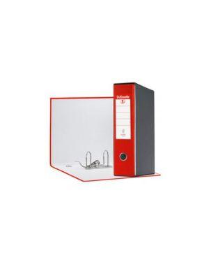 Registratore eurofile g55 rosso dorso 8cm f.to protocollo esselte CONFEZIONE DA 6 390755160_50914