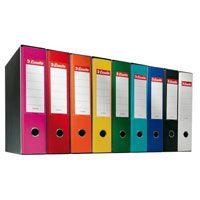 Registratore eurofile protocollo dorso 8 giallo ESSELTE 390755090 8004157735091 390755090_50915 by Esselte