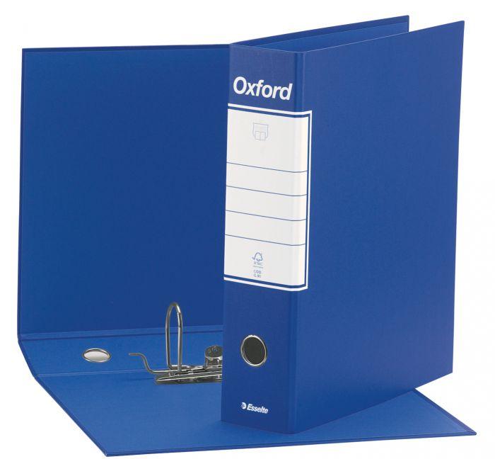 Registratore oxford g83 blu dorso 8cm f.to commerciale esselte CONFEZIONE DA 6 390783050_50926 by Esselte