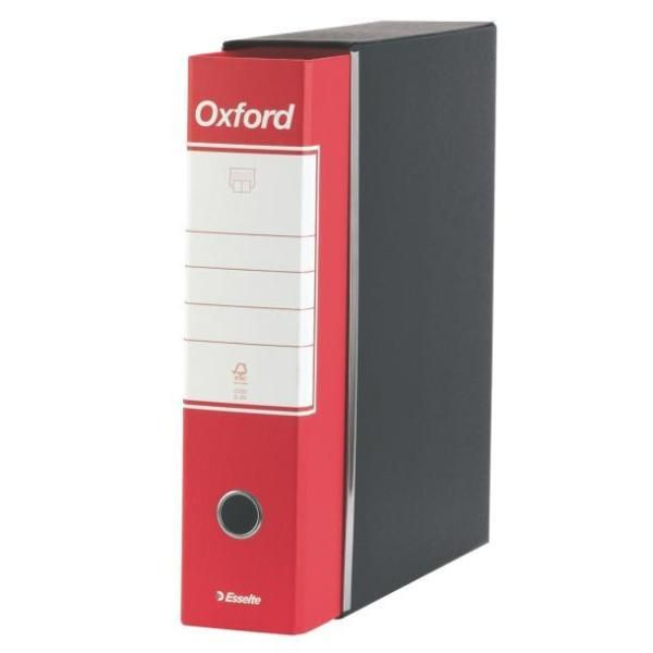 Registratore oxford commerciale dorso 8 rosso ESSELTE 390783160 8004157783160