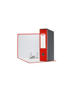 Registratore eurofile g53 rosso dorso 8cm f.To commerciale Confezione da 6 pezzi 390753160_50957 by Esselte