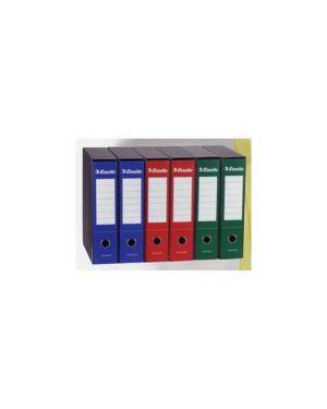 Registratore essential g75 blu dorso 8cm f.To protocollo Confezione da 6 pezzi 390775050_50962 by Esselte