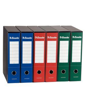 Registratore essential g75 rosso dorso 8cm f.to protocollo esselte CONFEZIONE DA 6 390775160_50964 by Esselte