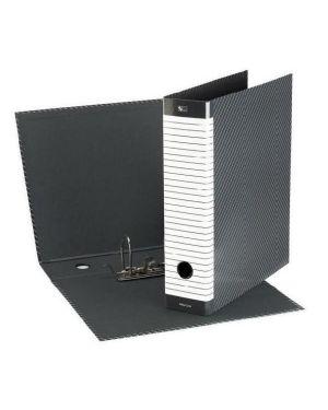 Dorso 5 cm Formato Commerciale Esselte Raccoglitore Eurofile con meccanismo a leva e con custodia Cartone rivestito in plastica Blu 390752050