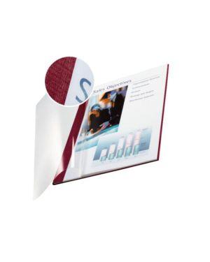 Scatola 10 copertine impressbind 7mm bordeaux flessibile 73990028 4002432373703 73990028_51056 by Leitz