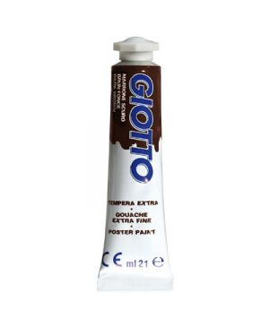 tub. tempera 21ml marrone Giotto 355023 8000825967535 355023_51228 by Giotto