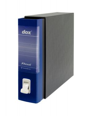 Registratore new dox 1 blu dorso 8cm f.to commerciale rexel D26104_51234 by Esselte
