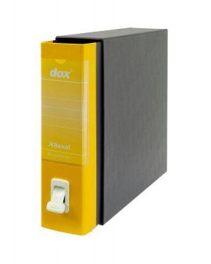 Registratore new dox 1 giallo dorso 8cm f.to commerciale esselte D26106 8004389086992 D26106_51235