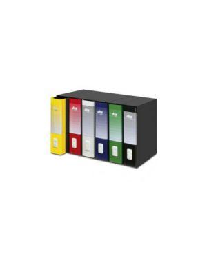 Registratore new dox 2 giallo dorso 8cm f.To protocollo D26206_51241 by Esselte