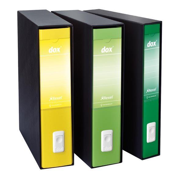 Registratore dox 4 giallo dorso 5cm f.to commerciale esselte D26406 8004389087722 D26406_51254 by Dox