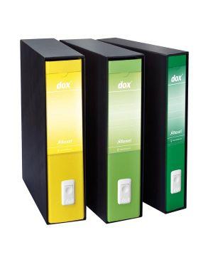 Registratore dox 5 giallo dorso 5cm f.to protocollo rexel D26506 8004389087845 D26506_51258