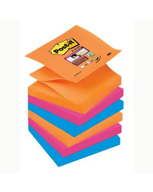 Blocco 90foglietti post-it®super sticky z-notes 76x76mm r330-6ss-eg bangkok 57349  57349