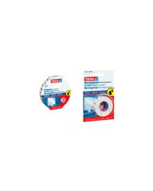 Nastro biadesivo 1,5mtx19mm per specchi in blister 55732-00002-02_51418 by Tesa