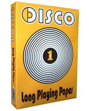 Carta fotocopie disco 1 210x297mm 80gr 500fg Confezione da 5 pezzi DISCO1_51470