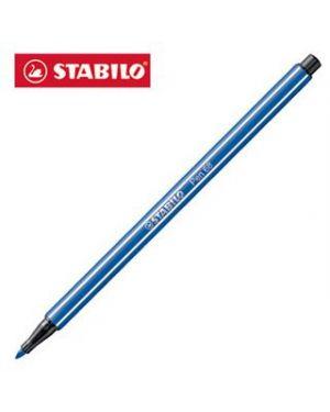 Pennarello stabilo pen 68/031 blu fluo Confezione da 10 pezzi 68/031_51869 by Stabilo
