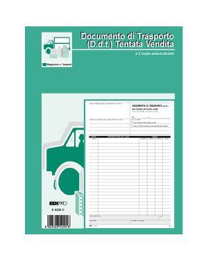 Blocco ddt carico tentata vendita a4 50 fg autoric. e5220c edipro E5220C 8023328522018 E5220C_51876