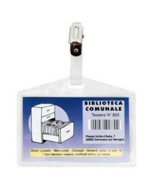 Porta badge pass 3p c.r 318009_51906 by Esselte