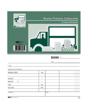 Blocco prelievo carburante 50/50 fg autoric. 9,9x17 e5326a E5326A_52034 by Esselte