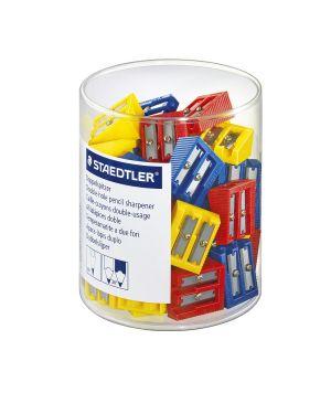 Barattolo 50 temperamatite 2 fori colorati staedtler 510 60KP50 4007817510445 510 60KP50_52127