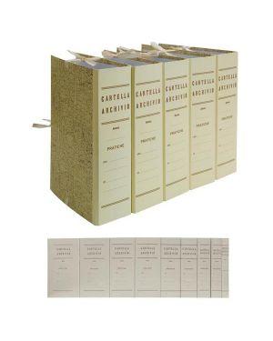 Faldone c - legacci juta 35x25cm dorso 6cm 0202202-6 52986 A 0202202-6_52986 by Brefiocart