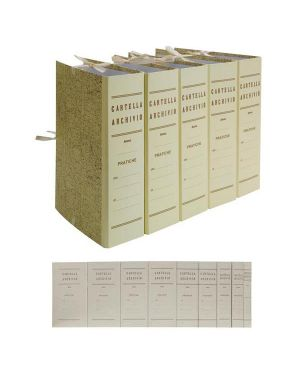 Faldone c - legacci juta 35x25cm dorso 15cm 0202202-15 52990 A 0202202-15_52990 by Brefiocart