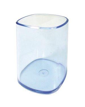 Portapenne bicchiere trasparente blu arda TR4111BL 8003438411211 TR4111BL_53197 by Arda