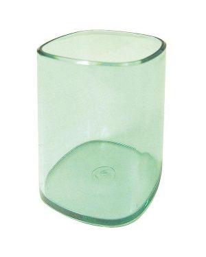 Portapenne bicchiere trasparente verde arda TR4111V 8003438411150 TR4111V_53198 by Arda