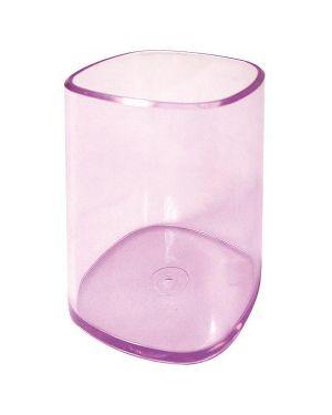 Portapenne bicchiere trasparente viola arda TR4111VI 8003438411228 TR4111VI_53199 by Arda