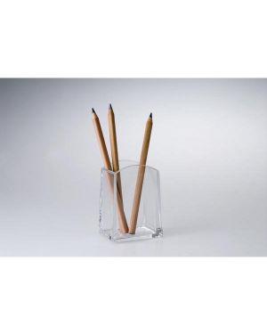 Portapenne a bicchiere quadrato myacrilic tecnostyl ACR006 8010026005523 ACR006_53205 by Tecnostyl