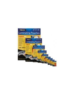 Scatola 100 pouches 80mic f.To a4 enhance80 5306114_53374 by Fellowes