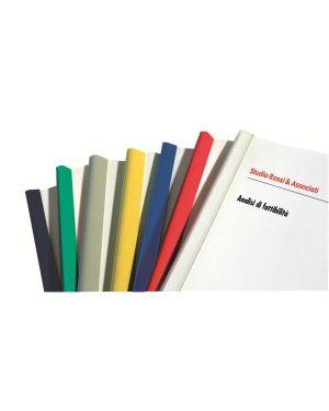 Dorsino 15 fogli d.3mm rosso Fellowes D103RO 8015687018387 D103RO_53390 by Esselte