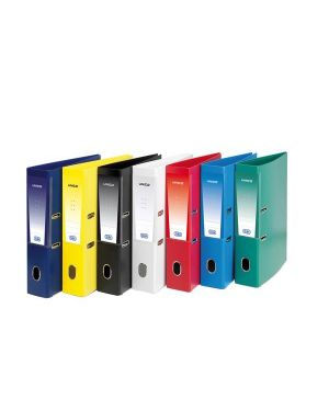 Registratore unico rado s/custodia giallo dorso 8cm f.to protocollo favorit 100460486_53460
