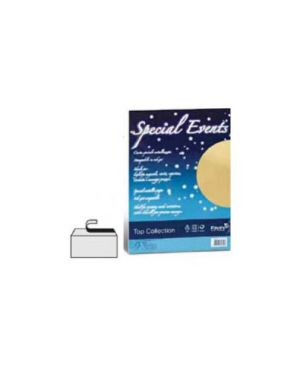 Carta metallizzata special events 250gr a4 10fg bianco 01 A690174_53513 by No